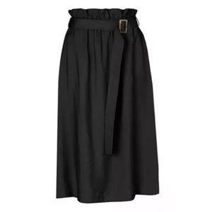 Viktoria & Woods 1 Prescott Paperbag Midi Skirt